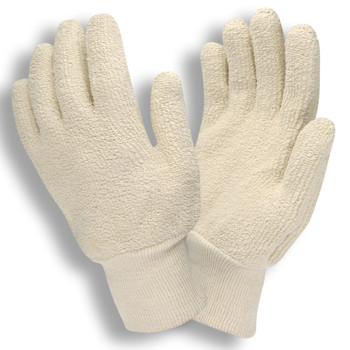 3224S 24 OZ  NATURAL  LOOP-OUT  KNIT WRIST Cordova Safety Products