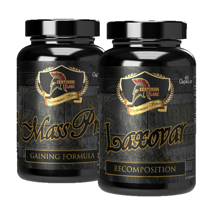 ADVANCED MASS STACK - Mass Pro & Laxovar [Packaging May Differ from Image]
