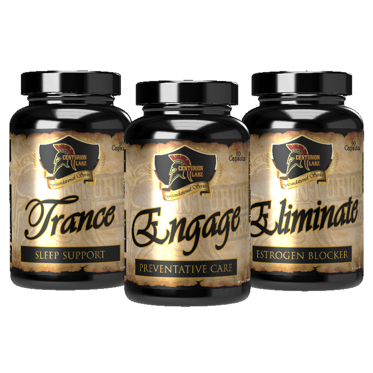 CYCLE SUPPORT STACK - Engage, Trance, & Eliminate [Packaging May Differ from Image]