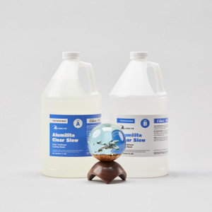 Alumilite Clear Slow 2 gallon bottles