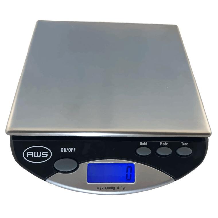 Gram Scale (6,000 gram/13.2 lb. Capacity)