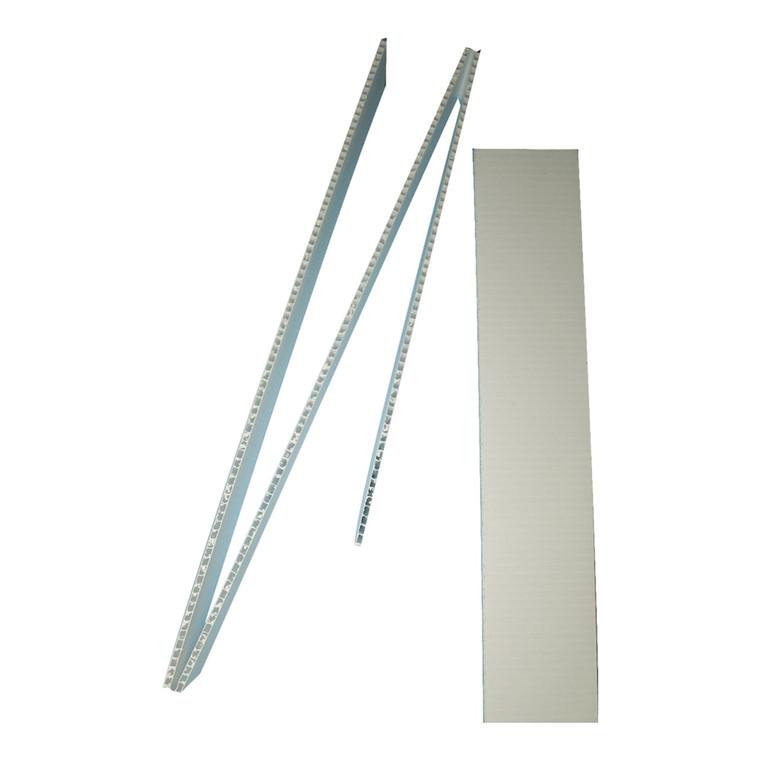 "Corrugated Plastic Strips (3"" x 48"")"