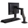 Monitor Arm & Keyboard Tray  #GGF-7509-1000HY