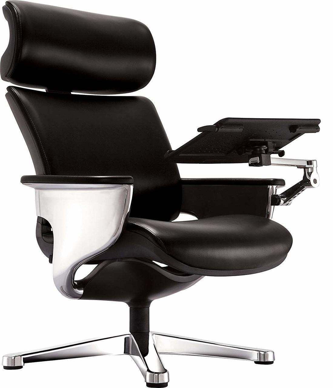 Pleasing Nuvem Black Leather Office Chair Ggf Nuvemblk Ncnpc Chair Design For Home Ncnpcorg