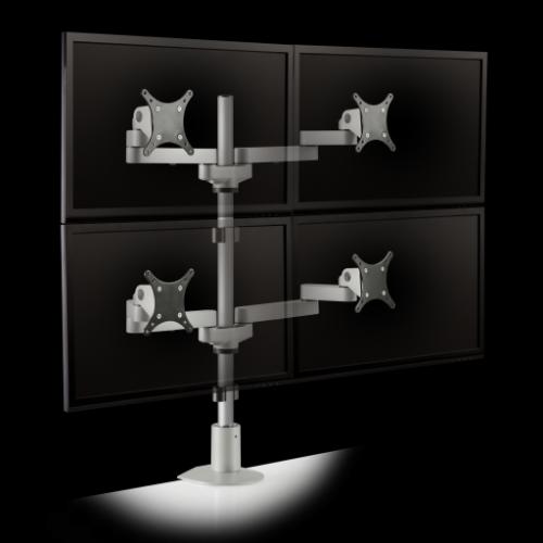 Quad Monitor Stand #GGF-9120-D-28-FM
