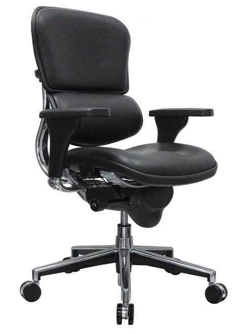 Ergohuman Leather Mid-Back Swivel Chair GGF-LE10ERGLO