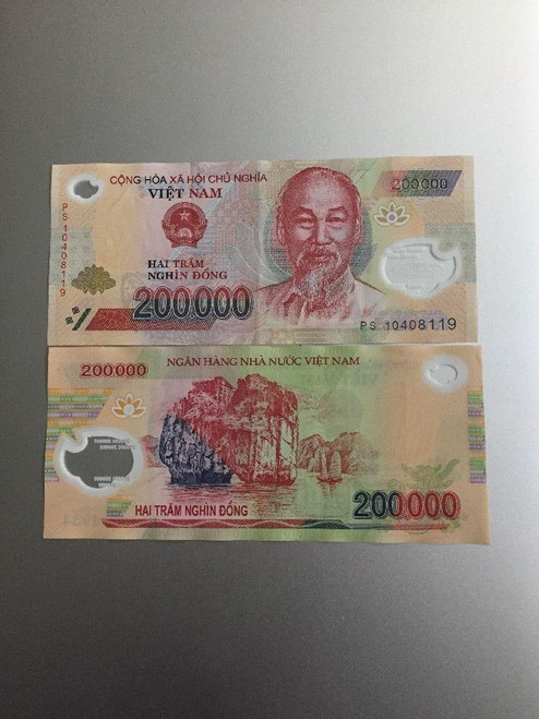 Vietnam Dong 200000 Circulated
