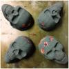 CBD Sugar Skull Bath Bombs - Aroma – Frankincense Clove