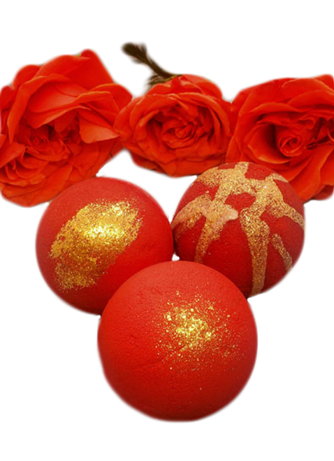 Love you Bunches Passion - Dark red CBD infused bath bomb. Vegan, cruelty free, sustainable and biodegradable. We take no shortcuts to provide you the highest quality products.