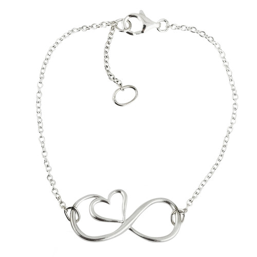 Sterling Silver Hand Chain Ring Star Slave Bracelet
