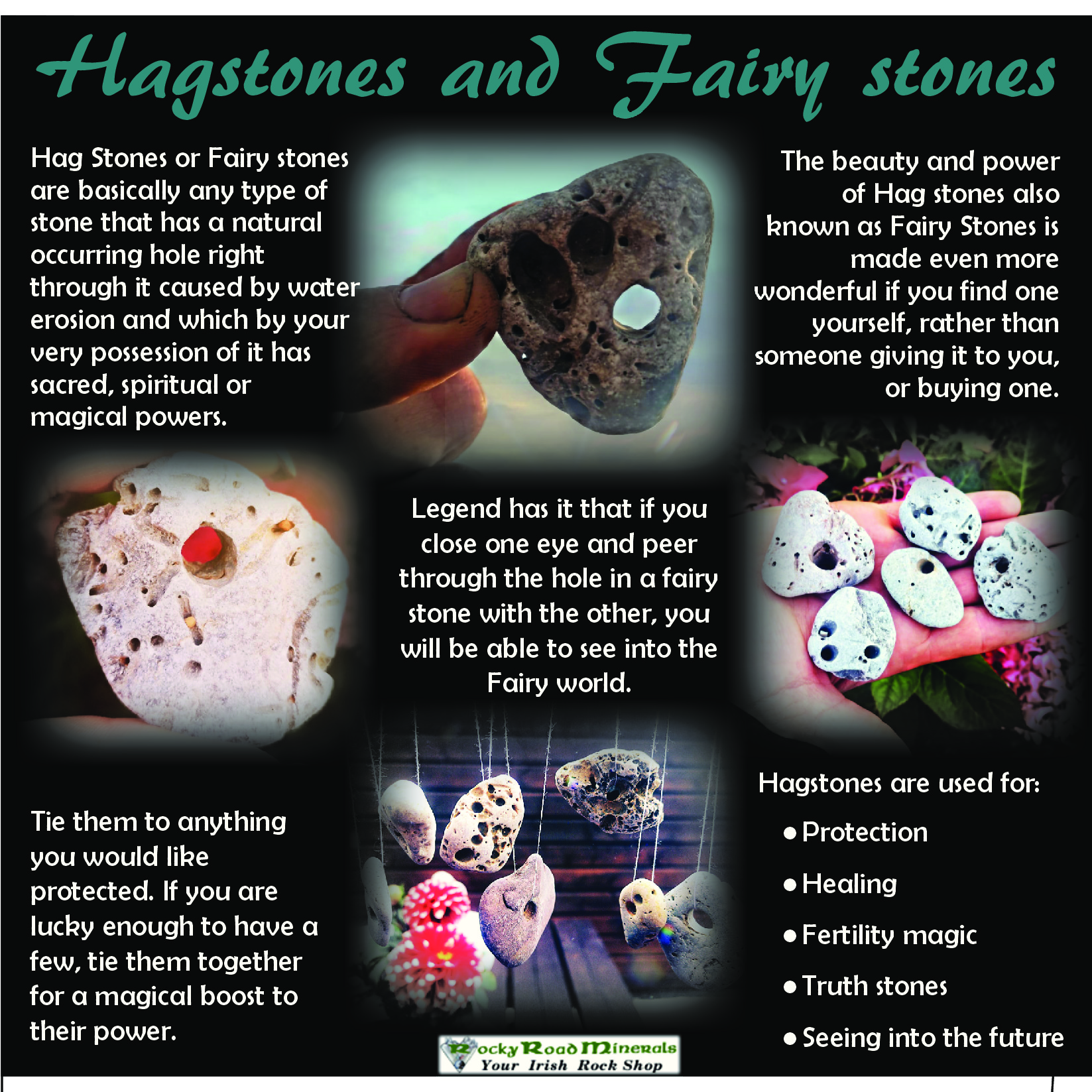 Hag Stones And Fairy Stones Rocky Road Minerals No need to register, buy now! hag stones and fairy stones rocky