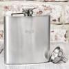 Personalised Engraved Stainless Steel Hip Flask