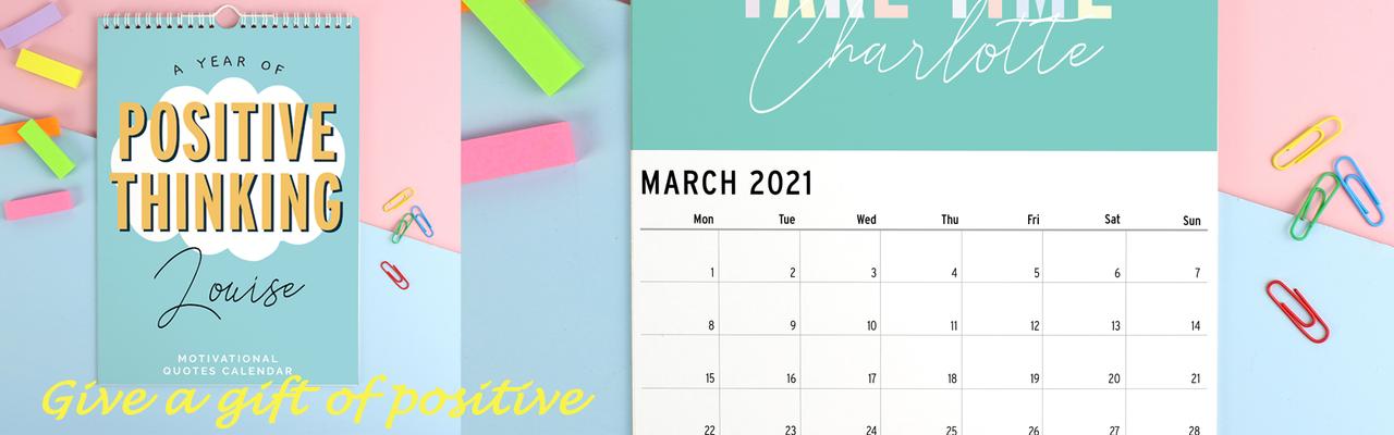 Motivational Quote Calendar