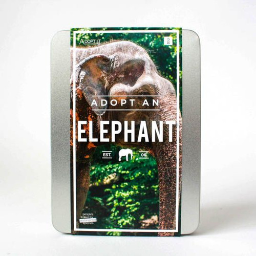 Adopt an Elephant Gift Box