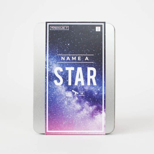 Name A Star Gift Pack