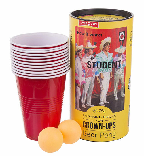 Ladybird Books For Grown Ups Beer Pong