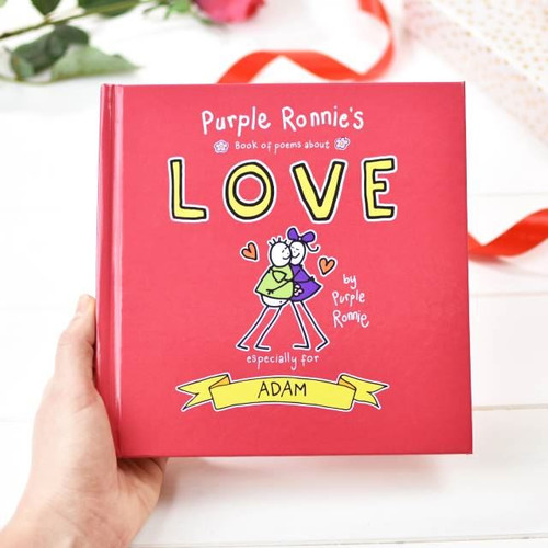 Purple Ronnie Love Poem Book