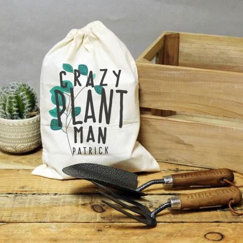 Crazy Plant Man Garden Tool Set