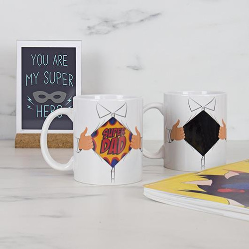 Super Dad Mug - Heat changing