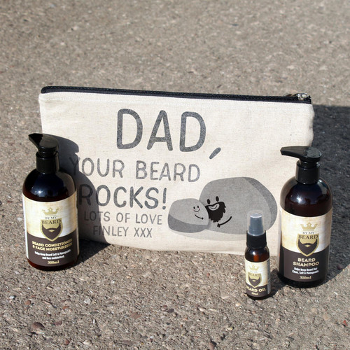 Dad Your Beard Rocks Beard Kit