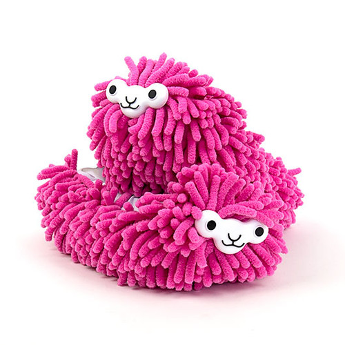 Llama Cleaning Slippers