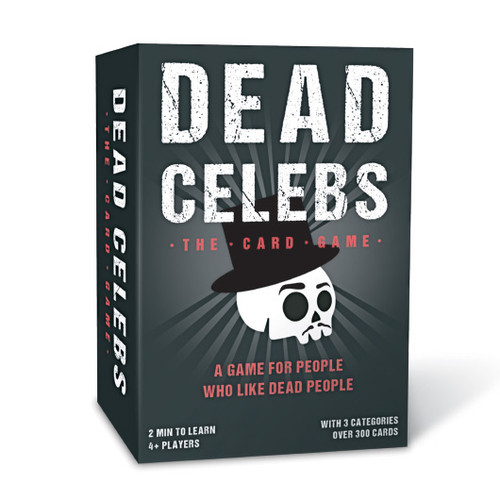 Guess The Dead Celeb Card Game