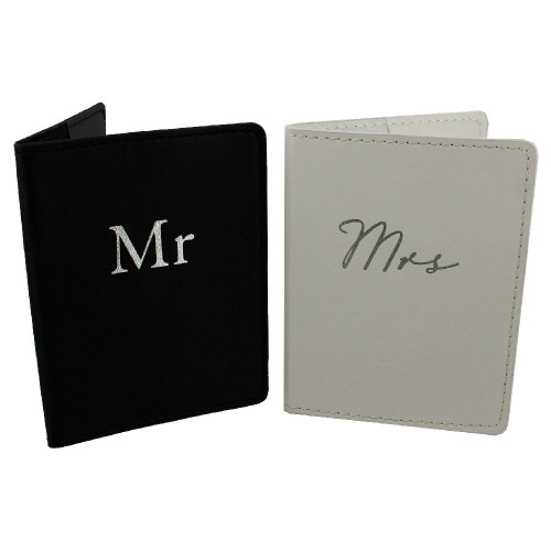 Mr & Mrs Matching PassPort Holders