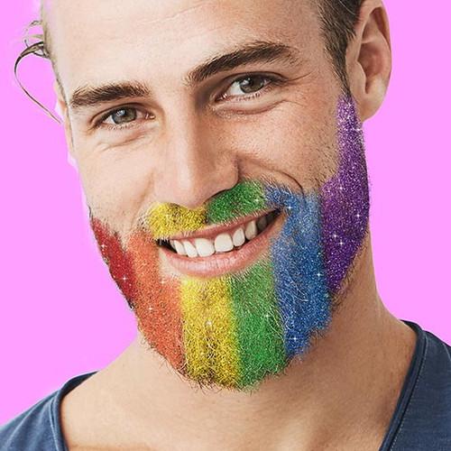 Gift Republic Biodegradable Rainbow Beard Glitter