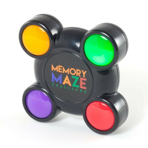 Memory Maze Pocket Light and Sound Sequence Puzzle Toy