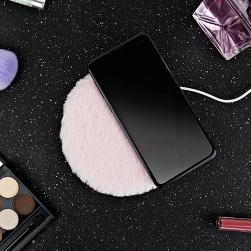 Fluffy Wireless Phone Charger