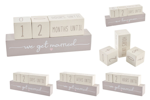 Wedding and Honeymoon Countdown Blocks