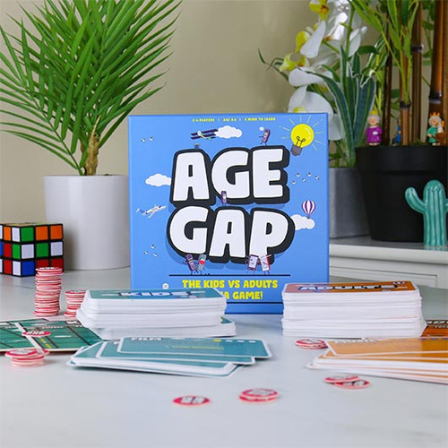 Age Gap - Kids Vs Adult Trivia Game