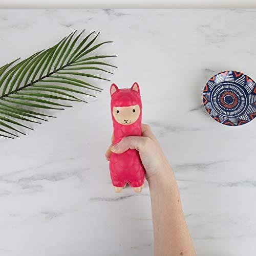 Gift Republic Calma Llama Stress Toy, Pink