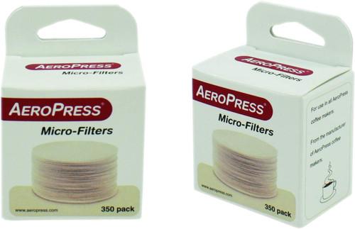 Aeropress Filters 2 x Packs of 350 Filters