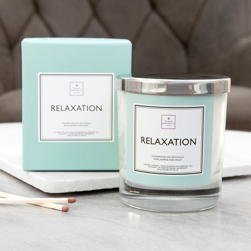 Personalised Relaxation Scented Candles