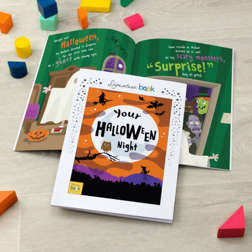 Personalised Halloween Book For Children