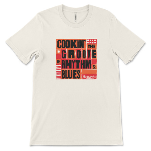 Bopworks T Shirt Creme - Free Shipping