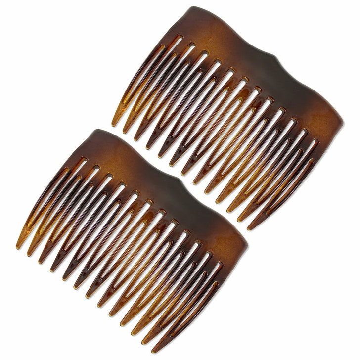 French Hair Combs - The Vivienne (Tortoiseshell)
