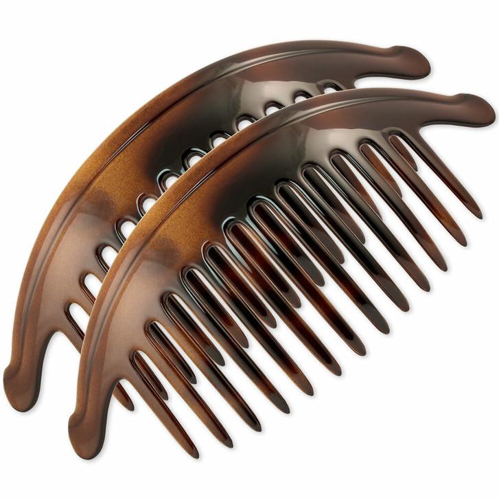 Extra Large 16cm Interlocking Hair Combs (Torttoiseshell)