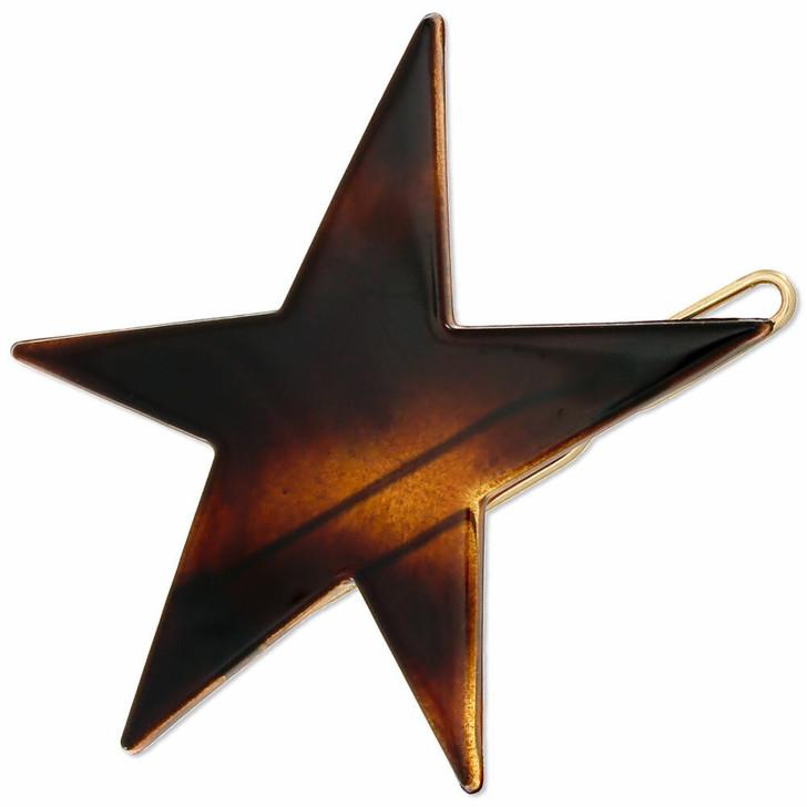 4.5cm Star Hair Clip Made in France