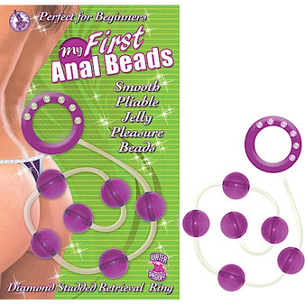 MY FIRST ANAL BEADS-PURPLE
