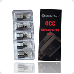 Clearomizer Replacement Head - Kanger - SUBTANK Plus OCC Coils - 5 Pack