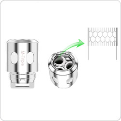 Clearomizer Replacement Head - Horizon - Falcon M-Triple Mesh Coils