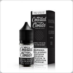 Coastal Clouds E-Liquid - SALT - Apple Peach Strawberry