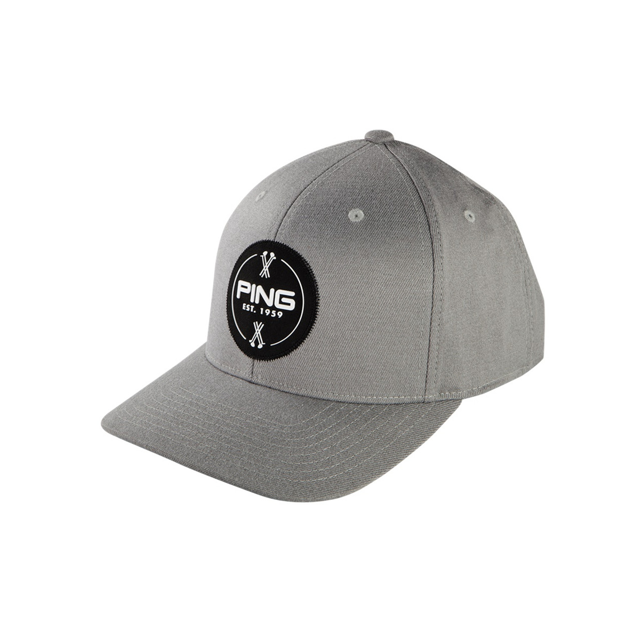 5f0f4e55768 Ping patch cap adjustable golf hat light grey golfland warehouse ping golf  patch jpg 1200x1200 Ping