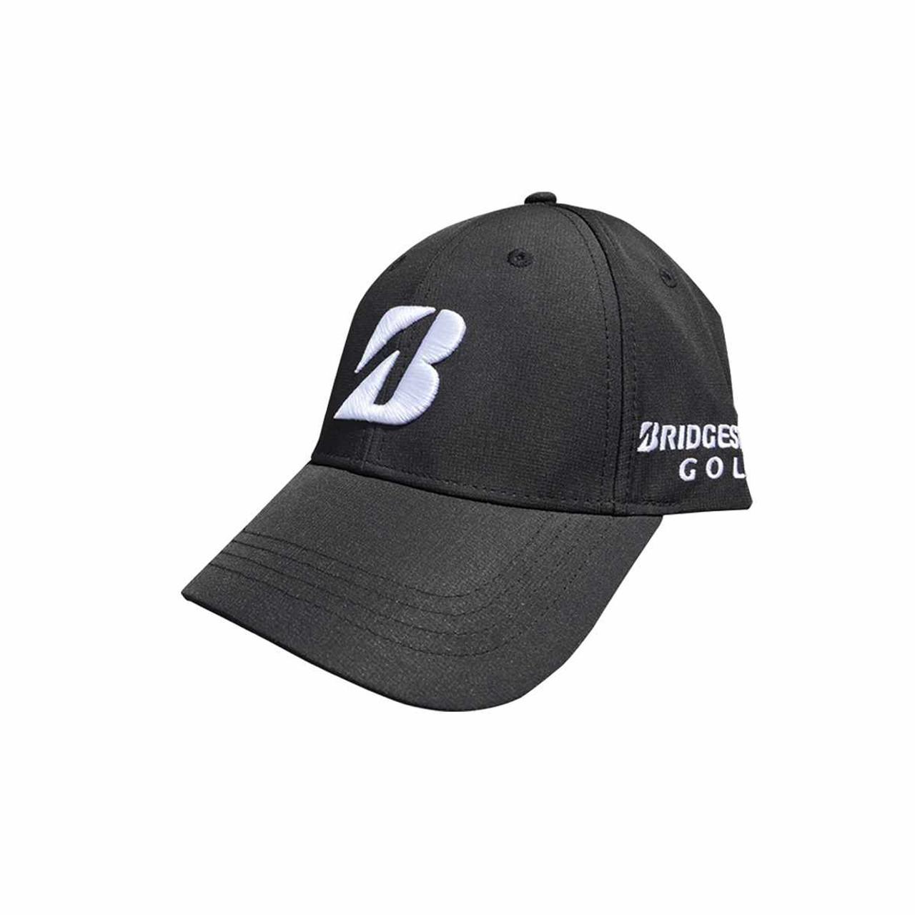 Bridgestone Golf Tour Performance Adjustable Hat Black