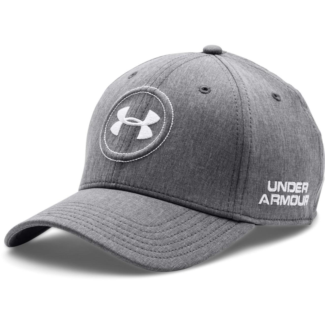 c84c7b422 Under Armour Golf Men's Official Tour Cap - Charcoal/White