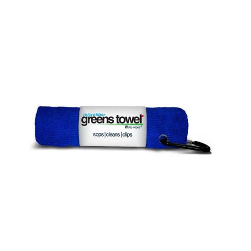 Microfiber Greens Towel - Royal Blue