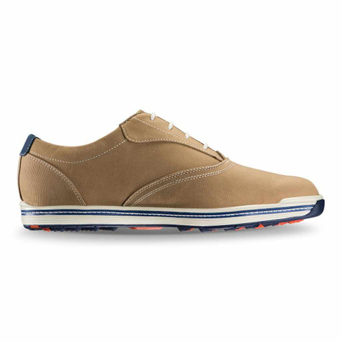 FootJoy Contour Casual Spikeless Golf Shoes - Tan