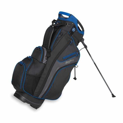 Bag Boy Chiller Hybrid Golf Stand Bag - Black/Charcoal/Royal